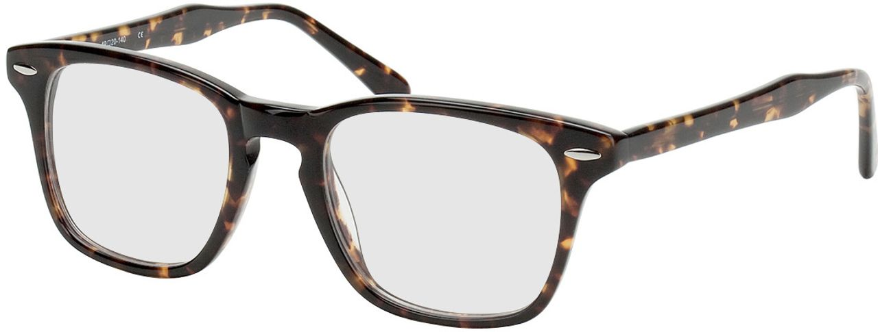Picture of glasses model Heredia brown/mottled in angle 330