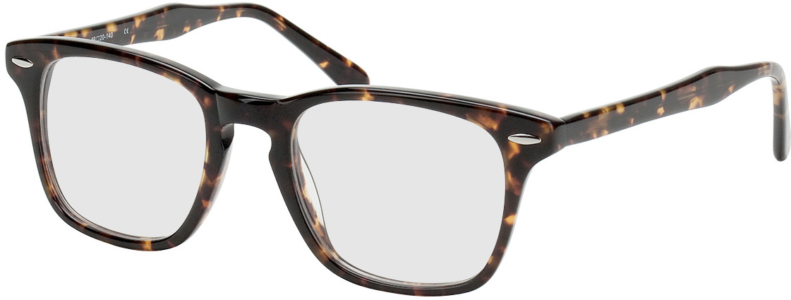 Picture of glasses model Hevermelhoia castanho/mosqueado in angle 330