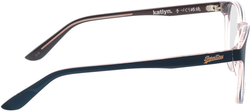 Picture of glasses model Superdry SDO Katlyn 107 teal/gloss pink crystal 51-18 in angle 90