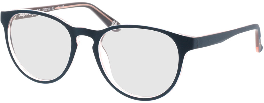 Picture of glasses model Superdry SDO Katlyn 107 teal/gloss pink crystal 51-18 in angle 330