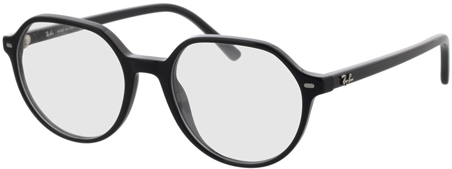 Picture of glasses model Ray-Ban RX5395 2000 51-18 in angle 330