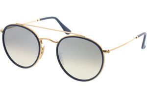 Ray-Ban Round Double Bridge RB3647N 001/9U 51-22