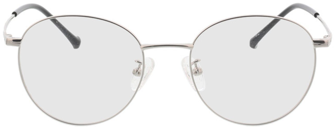 Picture of glasses model Charlottenburg-silver in angle 0