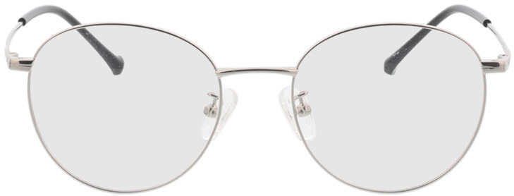 Picture of glasses model Charlottenburg zilver in angle 0
