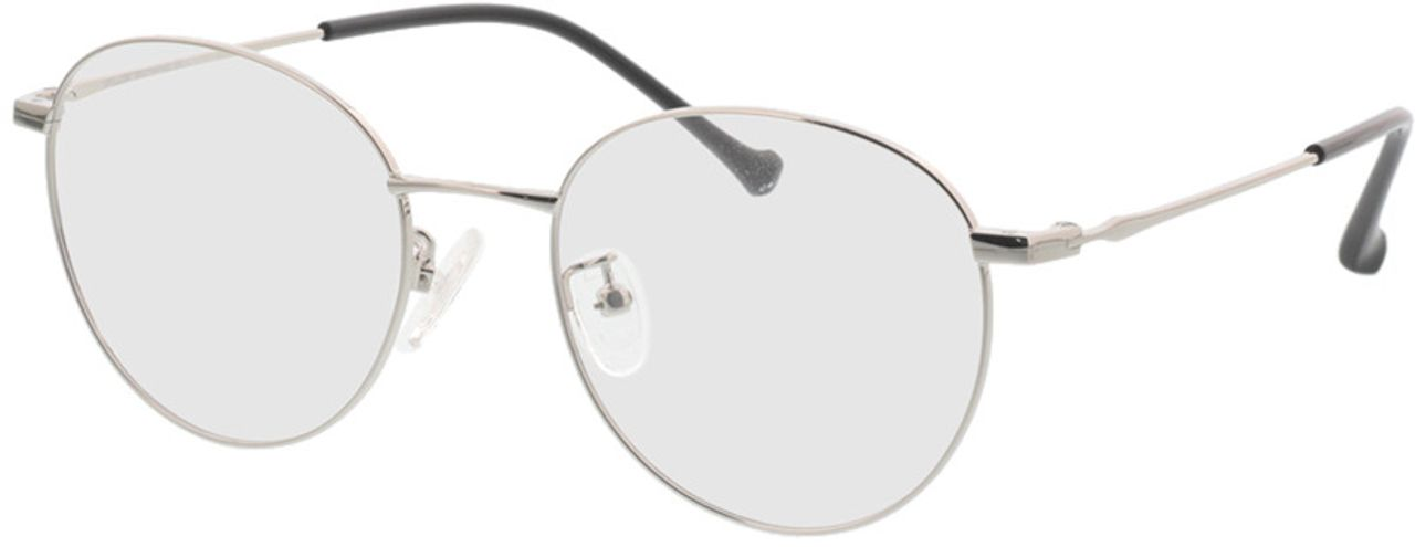 Picture of glasses model Charlottenburg-silver in angle 330