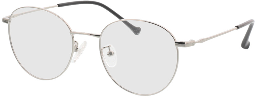 Picture of glasses model Charlottenburg zilver in angle 330