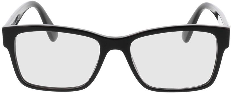 Picture of glasses model Prada PR 15VV 1AB1O1 55-17 in angle 0
