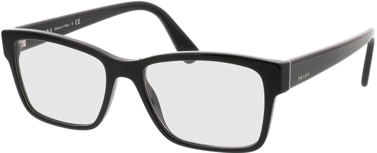 Picture of glasses model Prada PR 15VV 1AB1O1 55-17  in angle 330