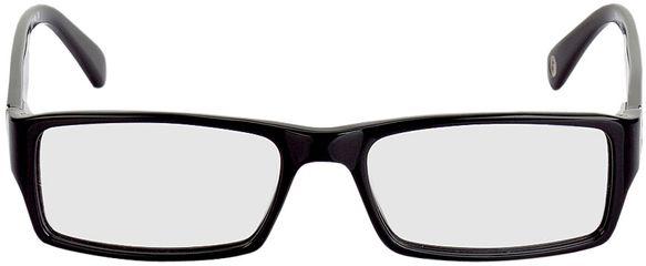 Picture of glasses model Navan-black-silver in angle 0