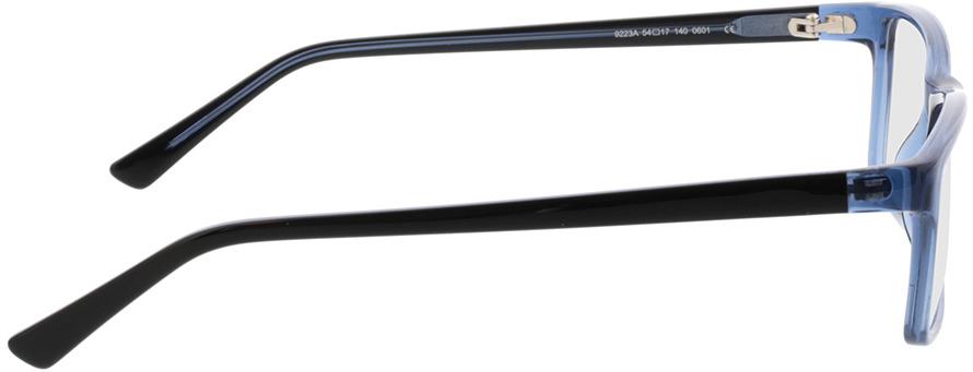 Picture of glasses model Arthur-blau in angle 90