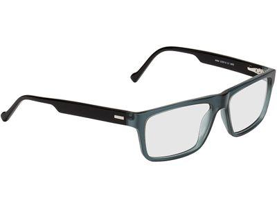 Brille Stuttgart-blaugrau/schwarz