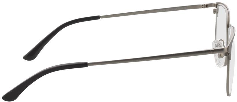 Picture of glasses model Murphy-matt silber/matt anthrazit in angle 90
