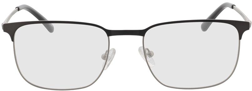 Picture of glasses model Murphy-matt silber/matt anthrazit in angle 0