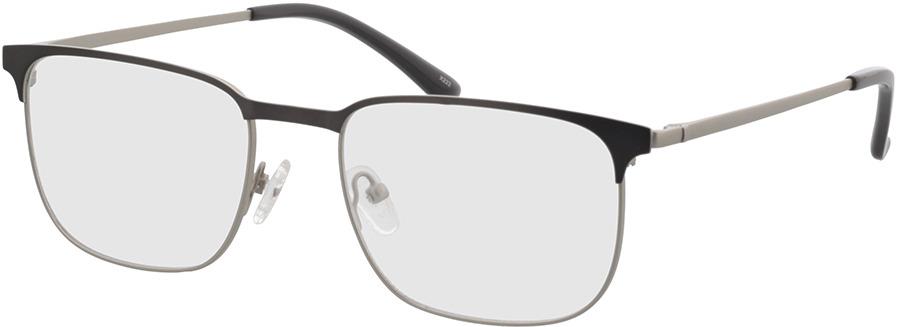 Picture of glasses model Murphy-matt silber/matt anthrazit in angle 330