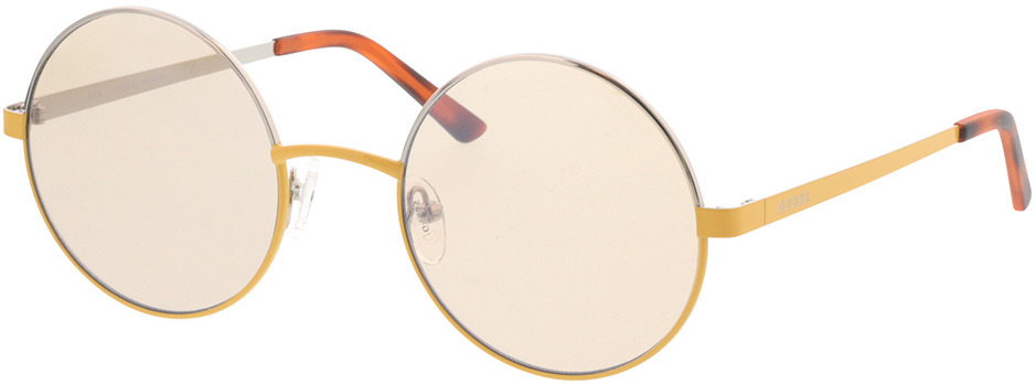Picture of glasses model Guess GU 3046 39G 52-22 in angle 330