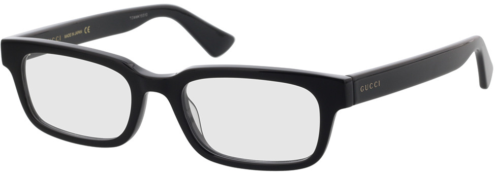 Picture of glasses model Gucci GG0928O-007 52-19 in angle 330