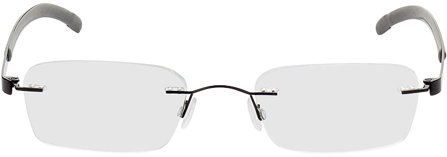Picture of glasses model Welkom-schwarz/grau in angle 0