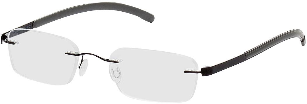 Picture of glasses model Welkom-schwarz/grau in angle 330