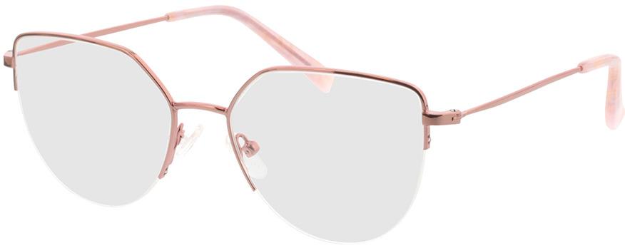 Picture of glasses model Garda-rose in angle 330