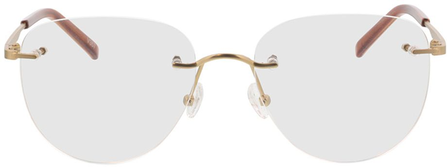 Picture of glasses model Ziano-gold in angle 0