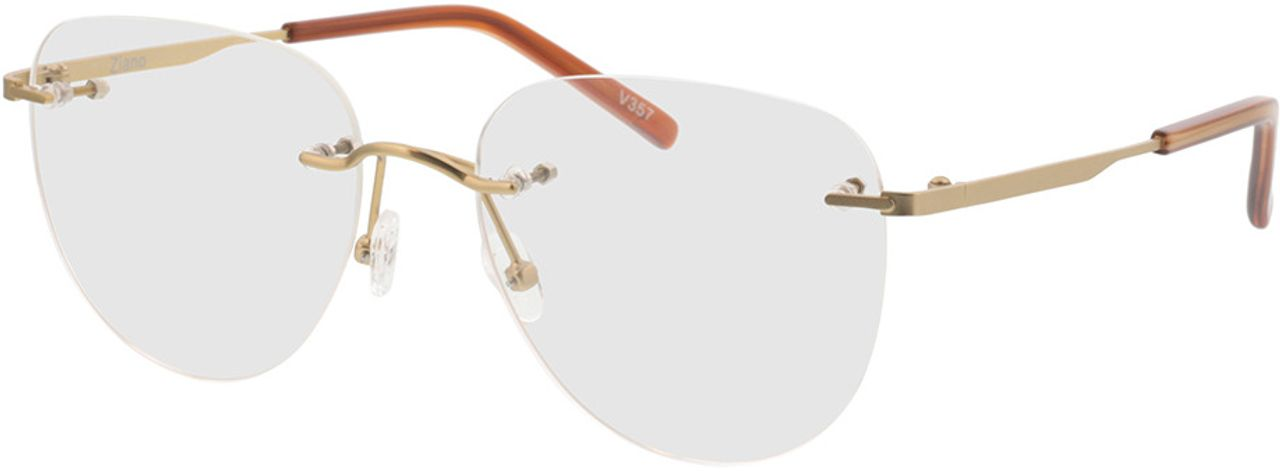 Picture of glasses model Ziano-gold in angle 330