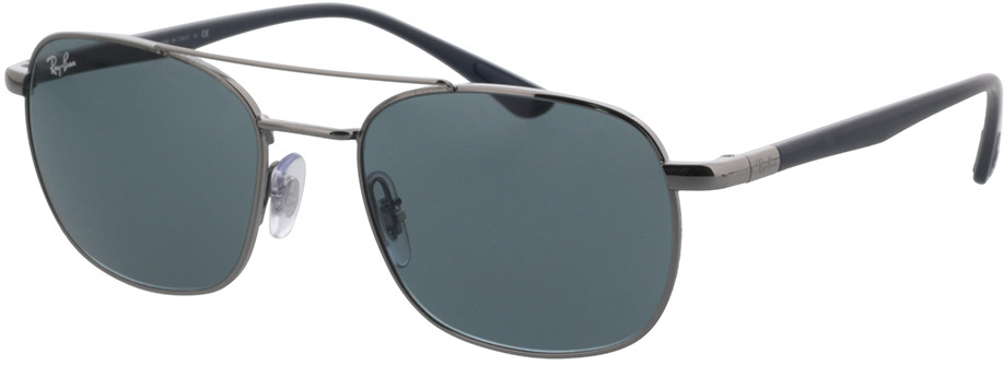 Picture of glasses model Ray-Ban RB3670 004/R5 54-19 in angle 330