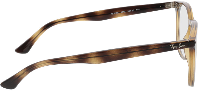 Picture of glasses model Ray-Ban RX7159 2012 52-20 in angle 90