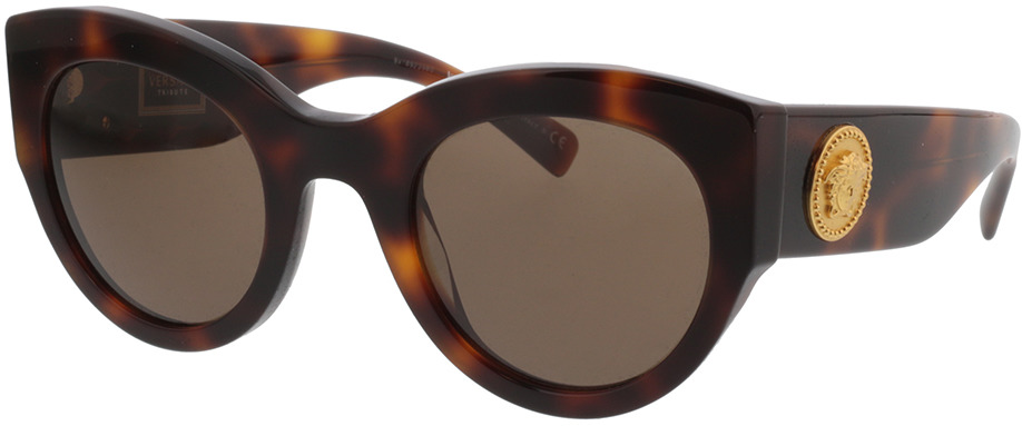 Picture of glasses model Versace VE4353 521773 51-26 in angle 330