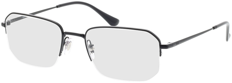 Picture of glasses model Ray-Ban RX6449 2509 53-19 in angle 330