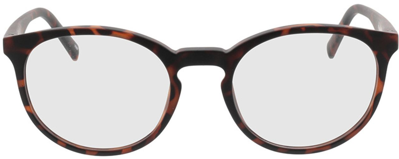 Picture of glasses model Picea-braun-meliert in angle 0