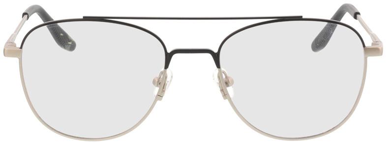 Picture of glasses model Alerio-matt schwarz matt silber in angle 0
