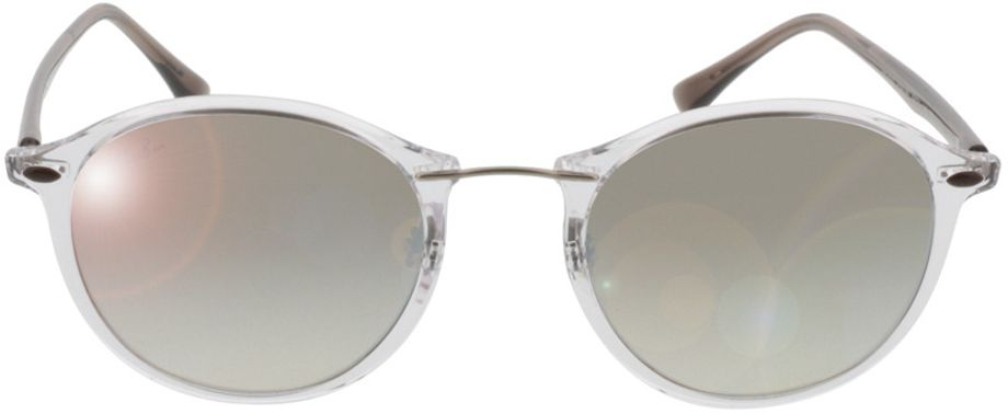 Picture of glasses model Ray-Ban RB4242 6290B8 49-21 in angle 0