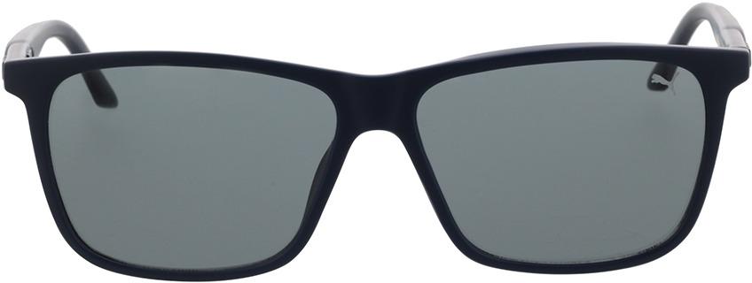 Picture of glasses model Puma PU0322S-003 58-14 in angle 0