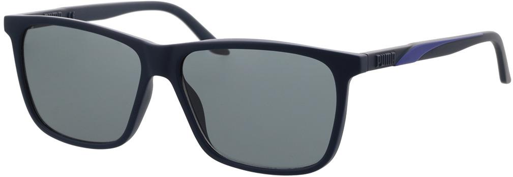 Picture of glasses model Puma PU0322S-003 58-14 in angle 330