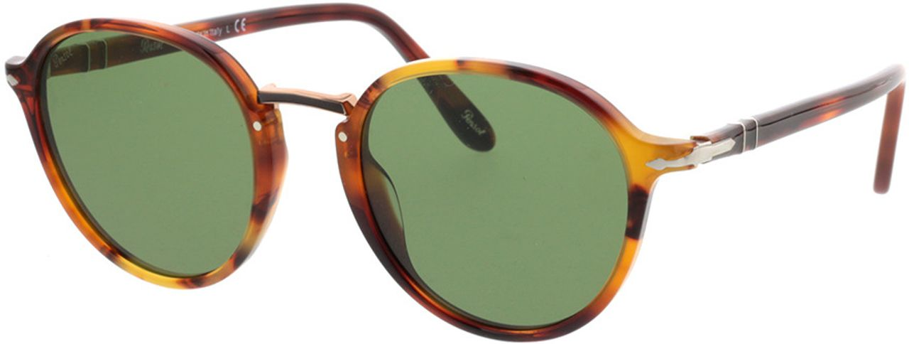 Picture of glasses model Persol PO3184S 108252 51-21 in angle 330