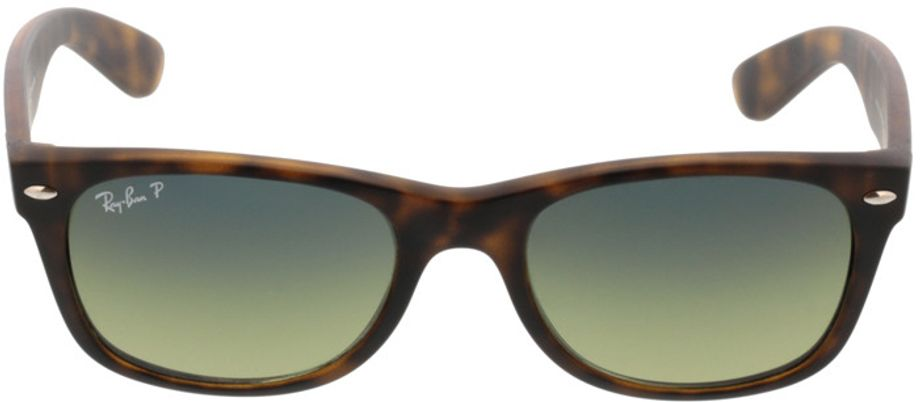 Picture of glasses model Ray-Ban New Wayfarer RB 2132 894/76 52-18 in angle 0