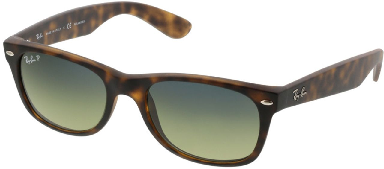 Picture of glasses model Ray-Ban New Wayfarer RB2132 894/76 52-18 in angle 330