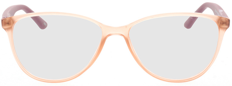 Picture of glasses model Lelia-pink transparent/lila in angle 0