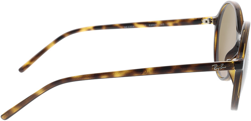 Picture of glasses model Ray-Ban RB4304 710/73 53-20 in angle 90
