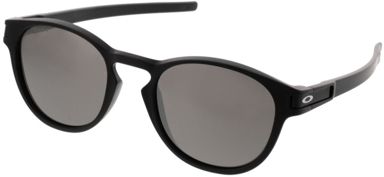 Picture of glasses model Oakley Latch Prizm OO9265 53-21 in angle 330