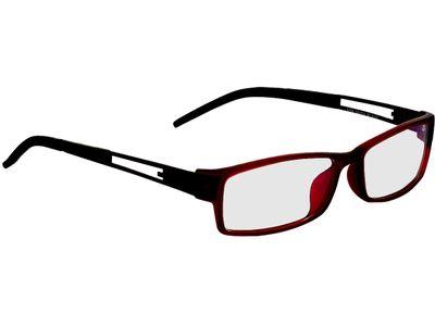 Brille Douala-rot/schwarz