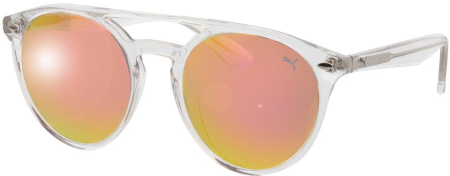 Picture of glasses model Puma PE0078S-002 51-20 in angle 330