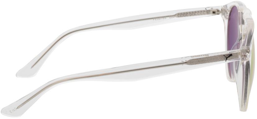 Picture of glasses model Puma PE0078S-002 51-20 in angle 90