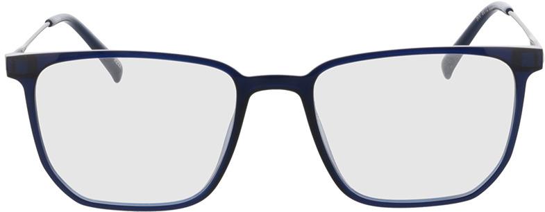Picture of glasses model Charles-blau/matt braun in angle 0