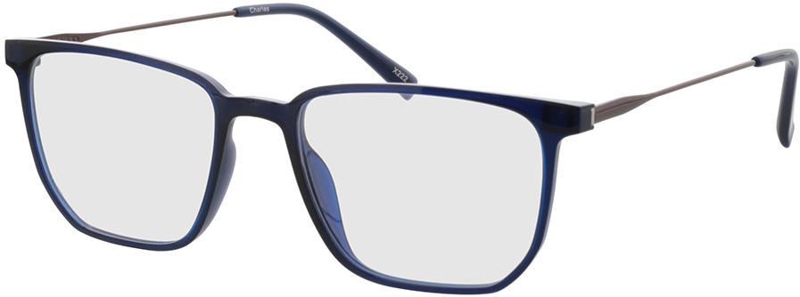 Picture of glasses model Charles-blau/matt braun in angle 330