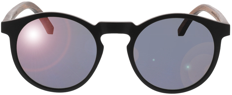 Picture of glasses model TAKE A SHOT Nepomuk: Walnussholz 49-21 in angle 0