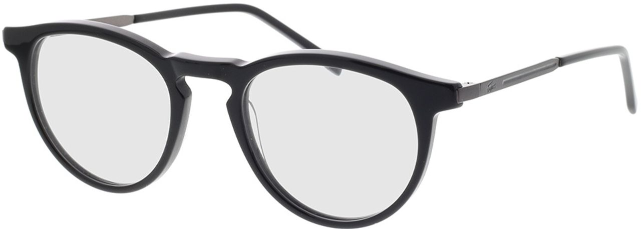 Picture of glasses model Lacoste L2872 001 49-20 in angle 330