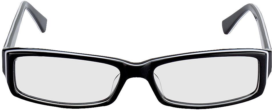 Picture of glasses model Como zwart in angle 0
