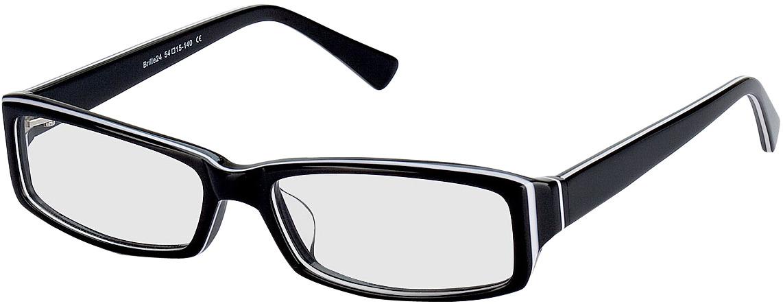 Picture of glasses model Como zwart in angle 330