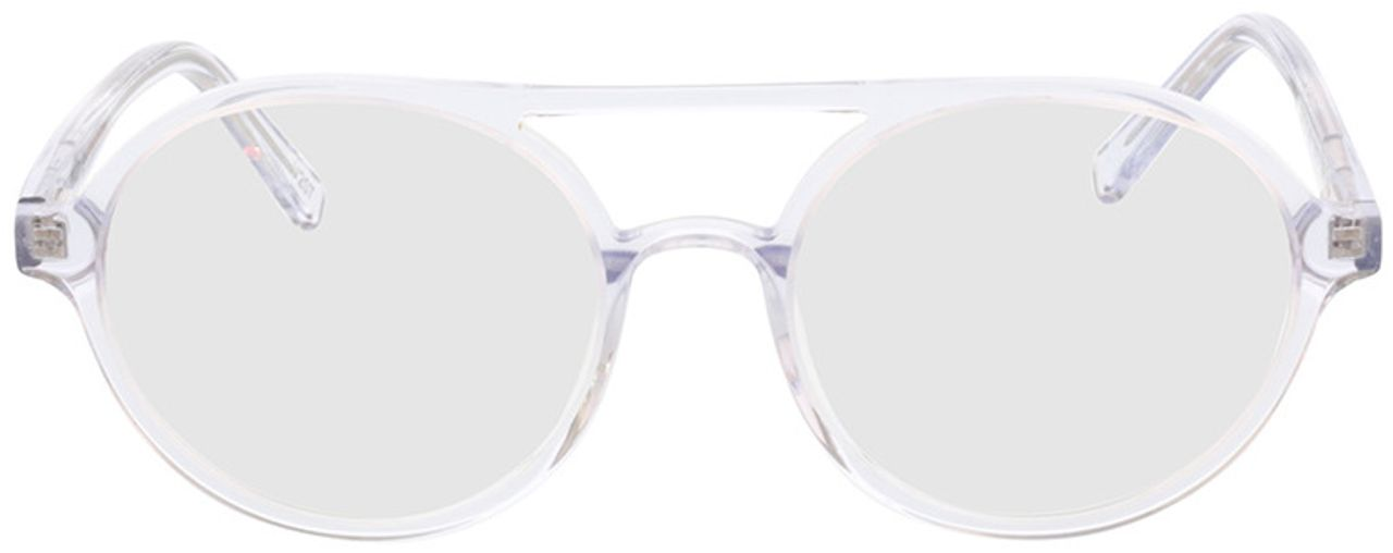 Picture of glasses model Alonis-transparent in angle 0